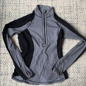 Lululemon striped pullover